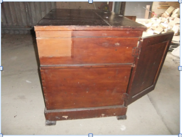 A vestment chest
