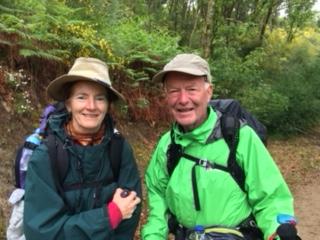 With Mary from Tasmania